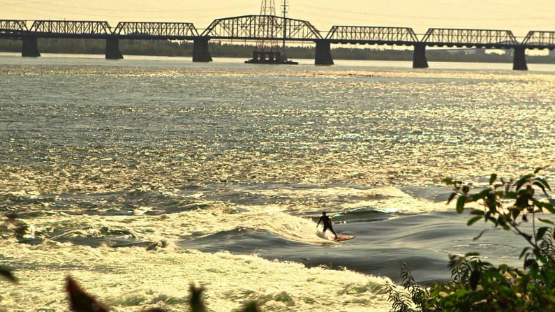 Surf the St Lawrence